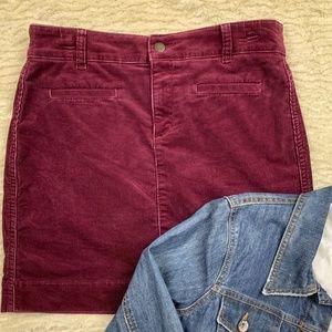 Ann Taylor LOFT Corduroy Skirt